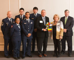 Chamber, JROTC partnership earns CEDA Award