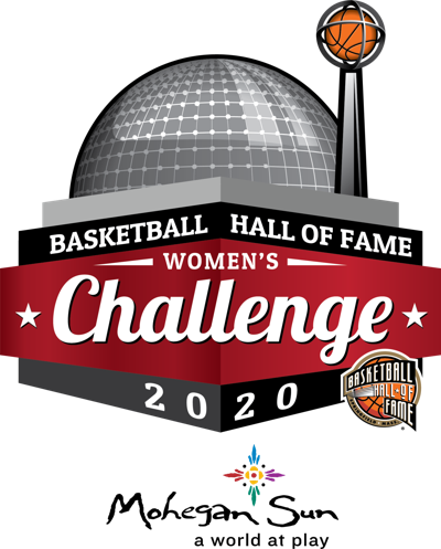basketball hall of fame women's challenge logo