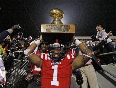 EGG BOWL 2012: Ole Miss beats Mississippi State 41-24