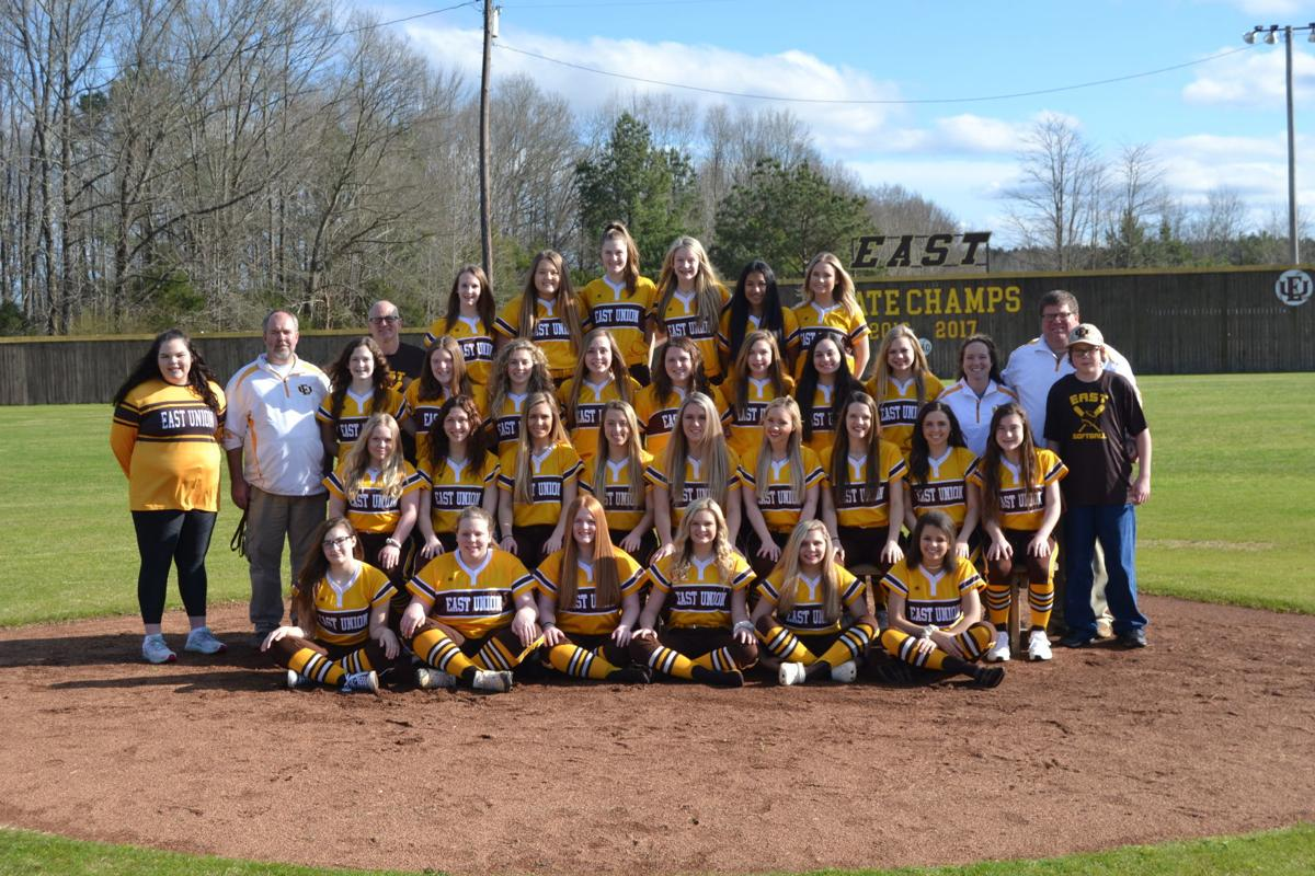 East Union Lady Urchins Softball Team