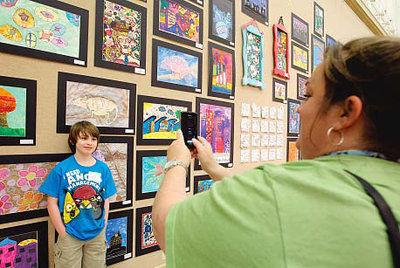 Exhibit shows Tupelo student artwork