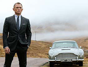 MOVIE REVIEW: Bond faces mid-life crisis in 'Skyfall'