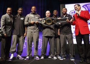 TCU wins Battle for Bowl Week title belt