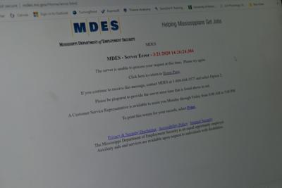 MDES website