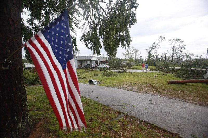Path of destruction: Tornado rips through Tupelo area
