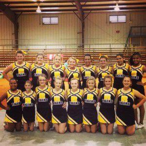 Ripley Middle School Cheerleaders Claim Junior High State Title