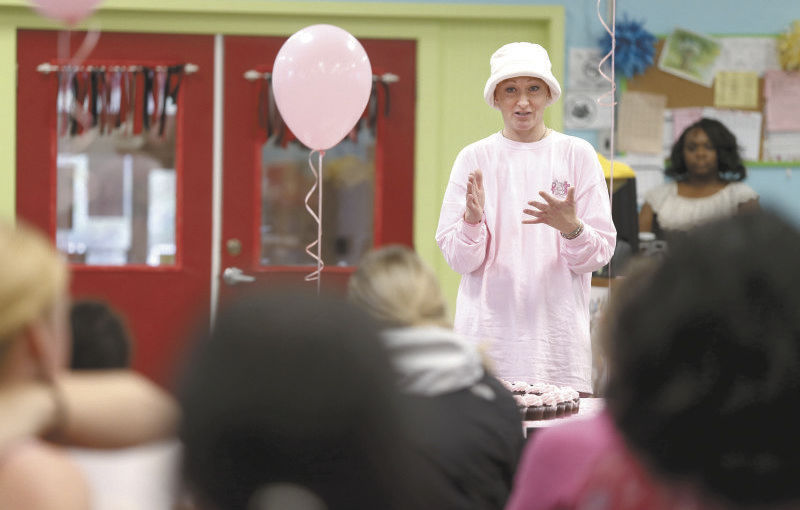 Verona supports librarian's cancer battle