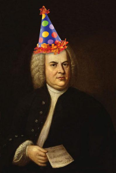Bach Party Hat