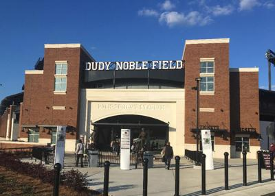 dudy noble field entrance