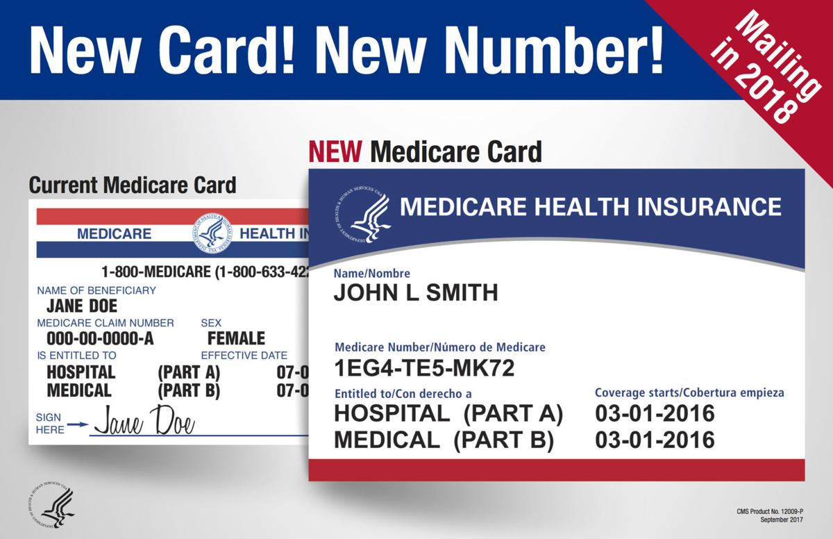 Medicare Begins To Issue New Cards Local News Djournal Com