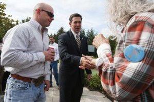 Sen. McDaniel visits Tupelo