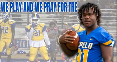 Tupelo's Hall staying #TREstrong after injury