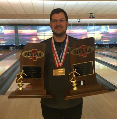 Kossuth bowling coach Michael Lee