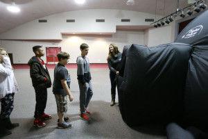 Mobile planetarium visits Shannon