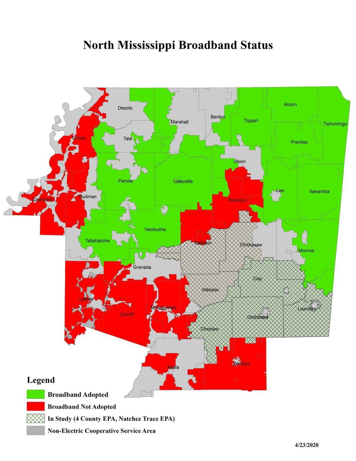 broadband status map