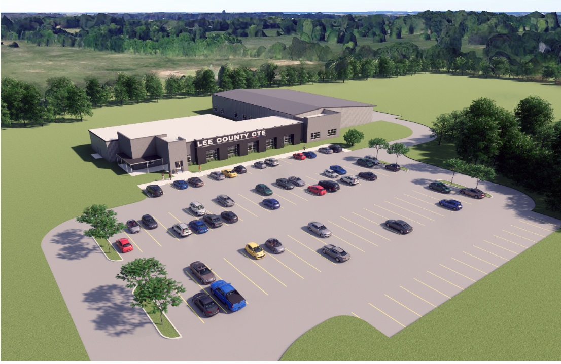 LCS Career Technical Center Rendering 1