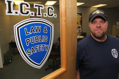 Desk duty: Longtime police officer brings his knowledge to the classroom