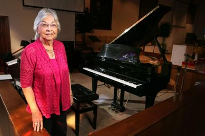 Octogenarian church pianist has no plans to leave her post