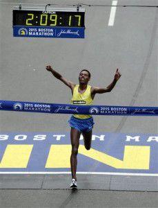 Desisa wins 119th Boston Marathon; Rotich takes women's race