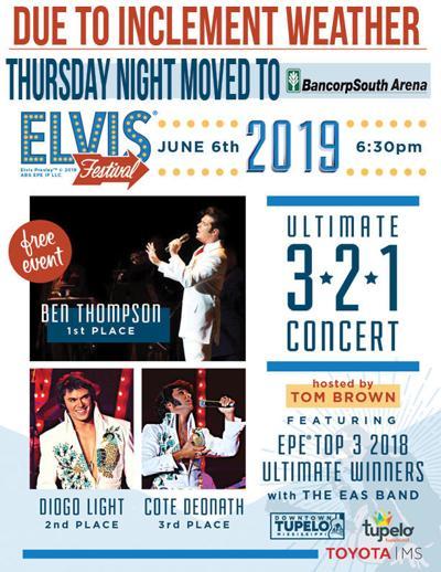 Elvis Festival rain plans