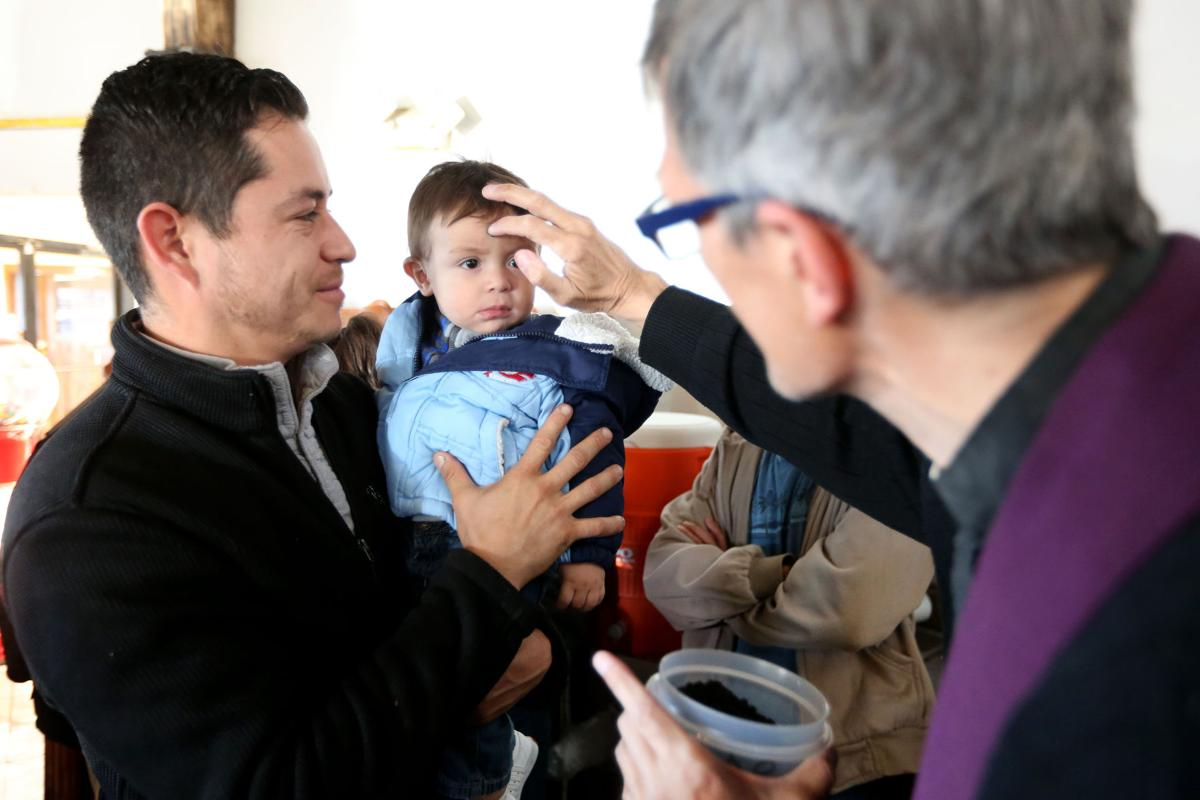 ASH WEDNESDAY: St. James delivers service to restaurant workers