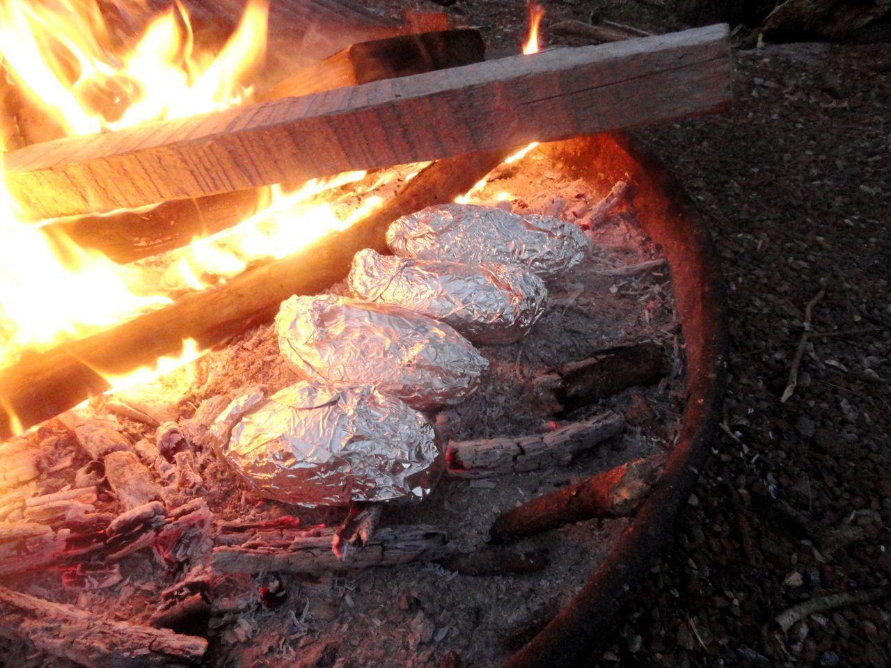 campfire cooking art