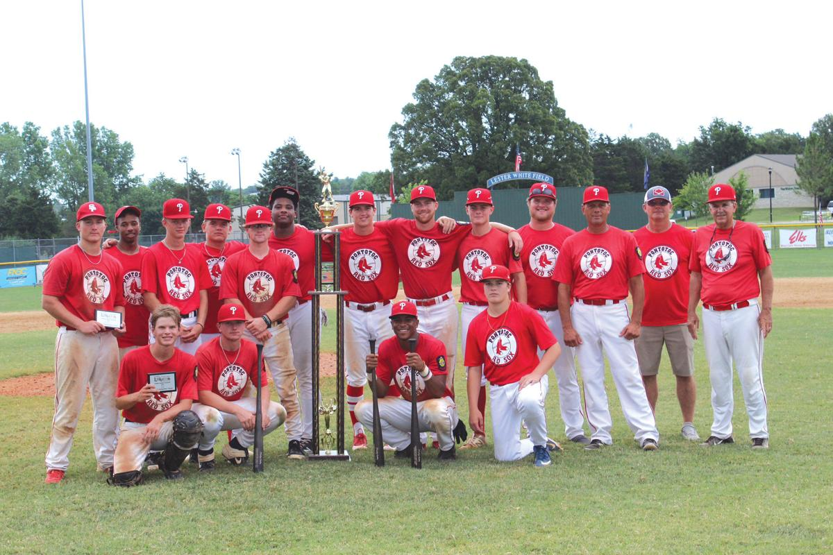 Pontotoc Red Sox with Trophy