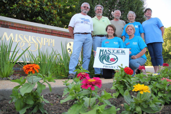 Master Gardeners earn state award for Welcome Center project ...