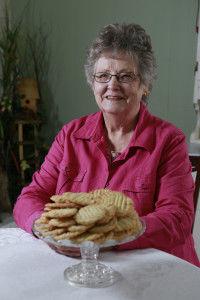 Belmont woman enjoys plying friends, neighbors with snacks