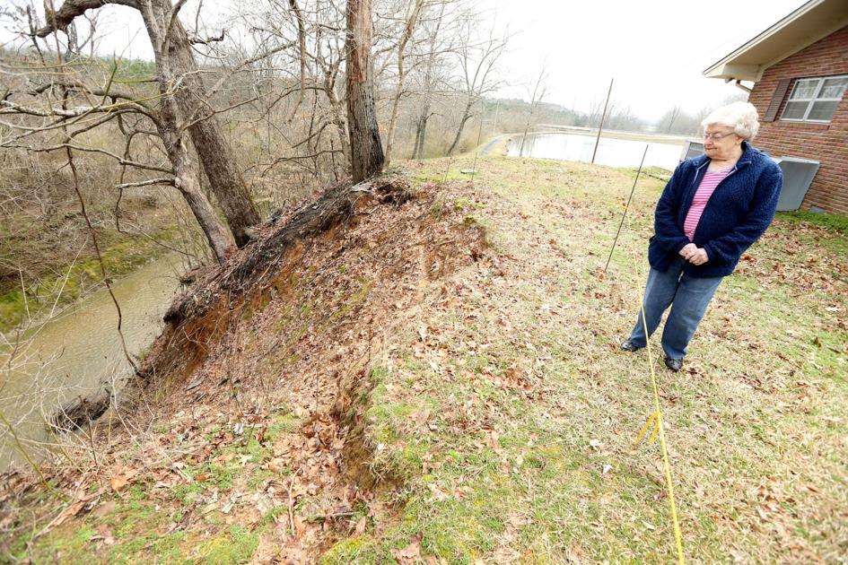 Baldwyn woman seeks help with erosion problems