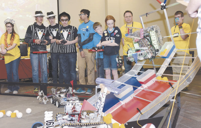 University of Mississippi hosts statewide robotics competition