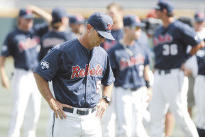 Rebels count on pitching depth