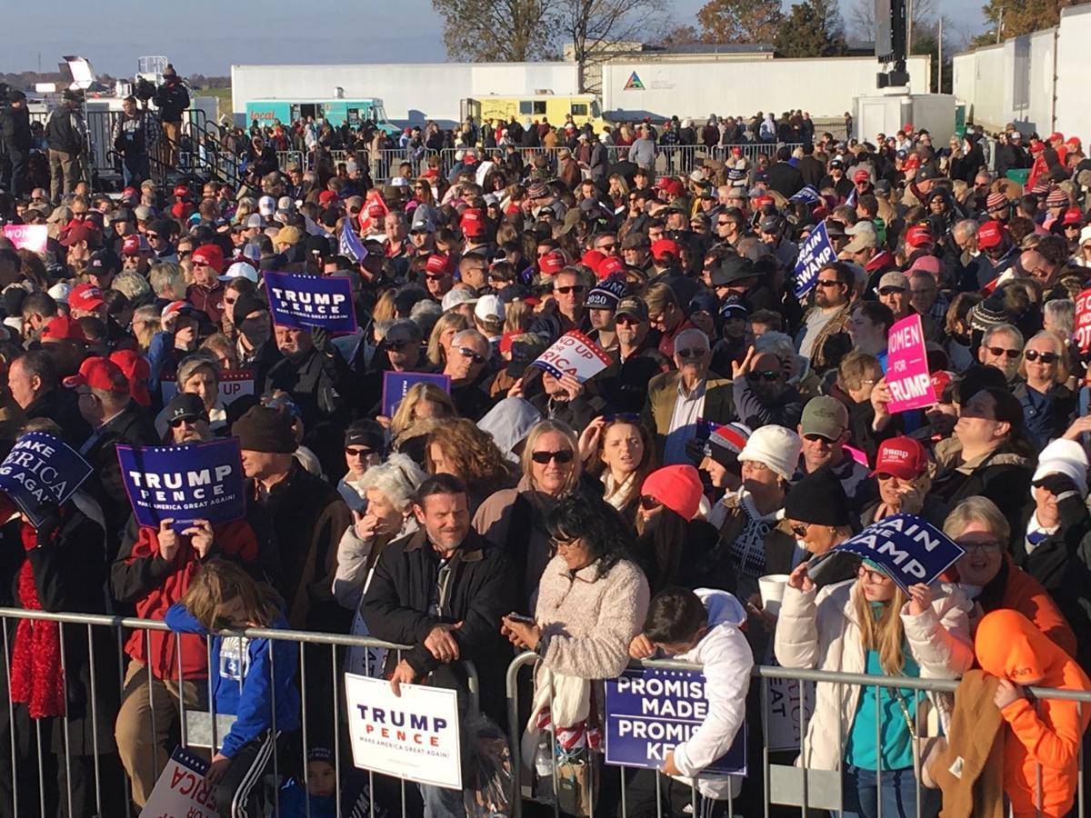 UPDATES: President Trump holds rally in Tupelo   News   djournal com