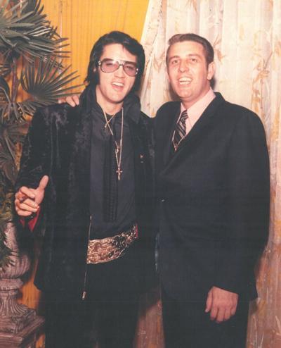 Bill Morris with Elvis