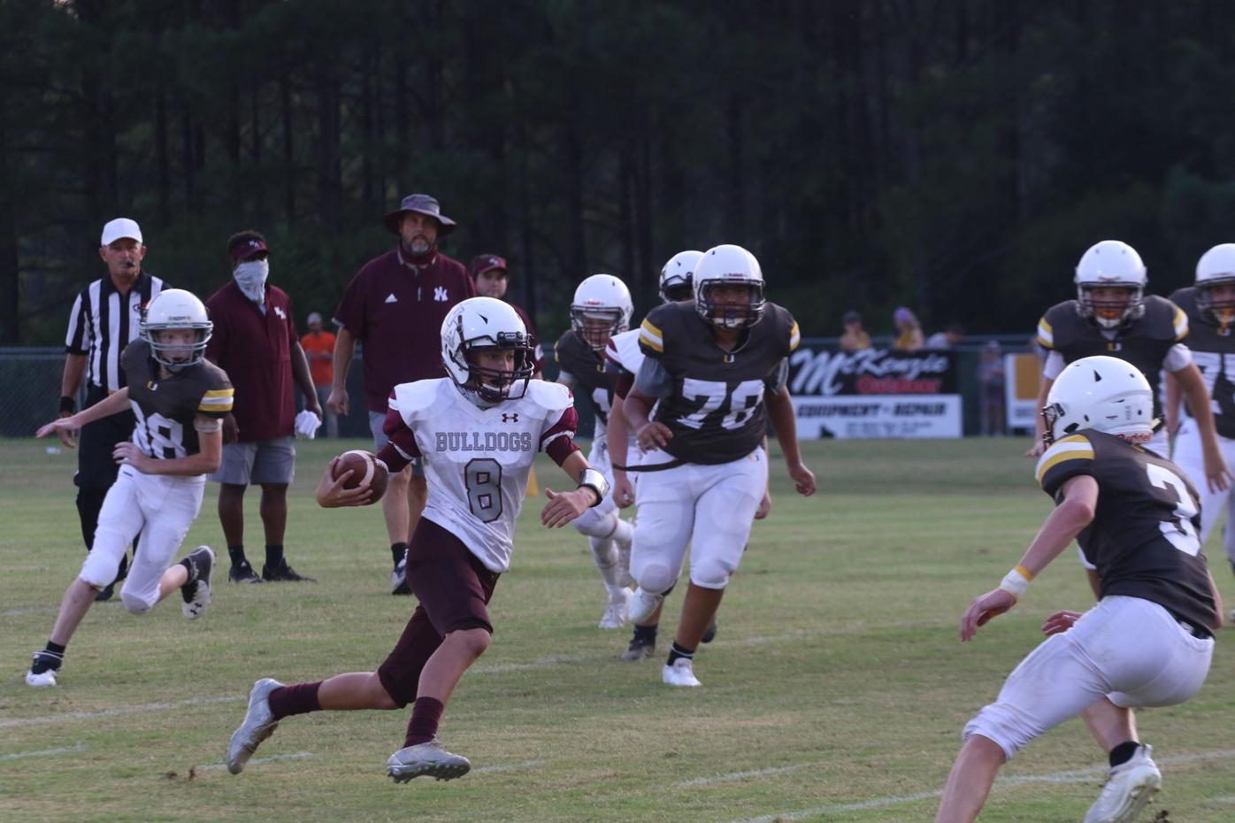 Seventh grade football