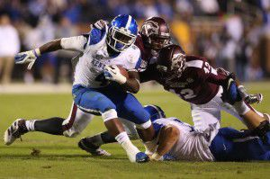 Bulldogs hang on for first SEC win of season