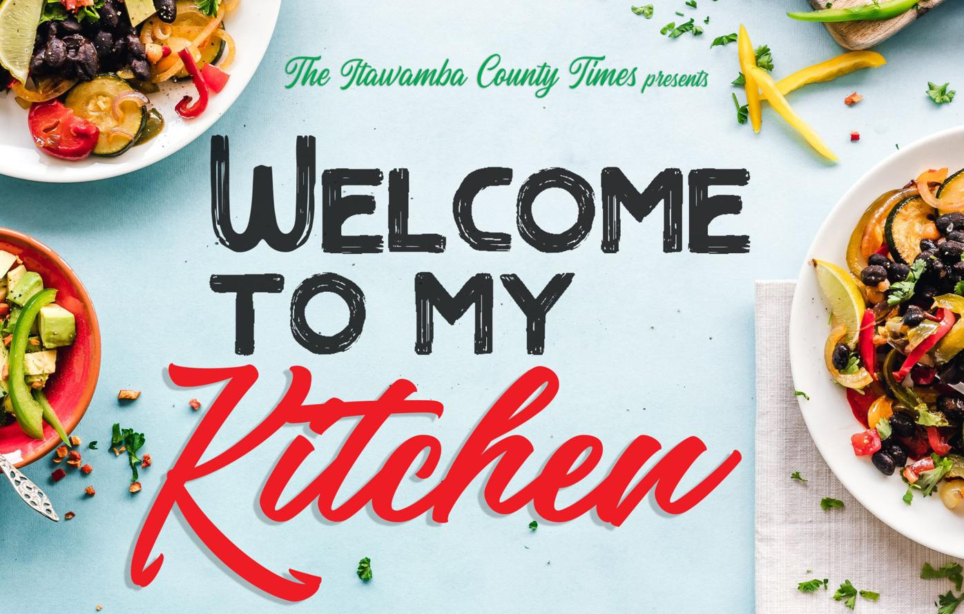 Welcome to My Kitchen Logo