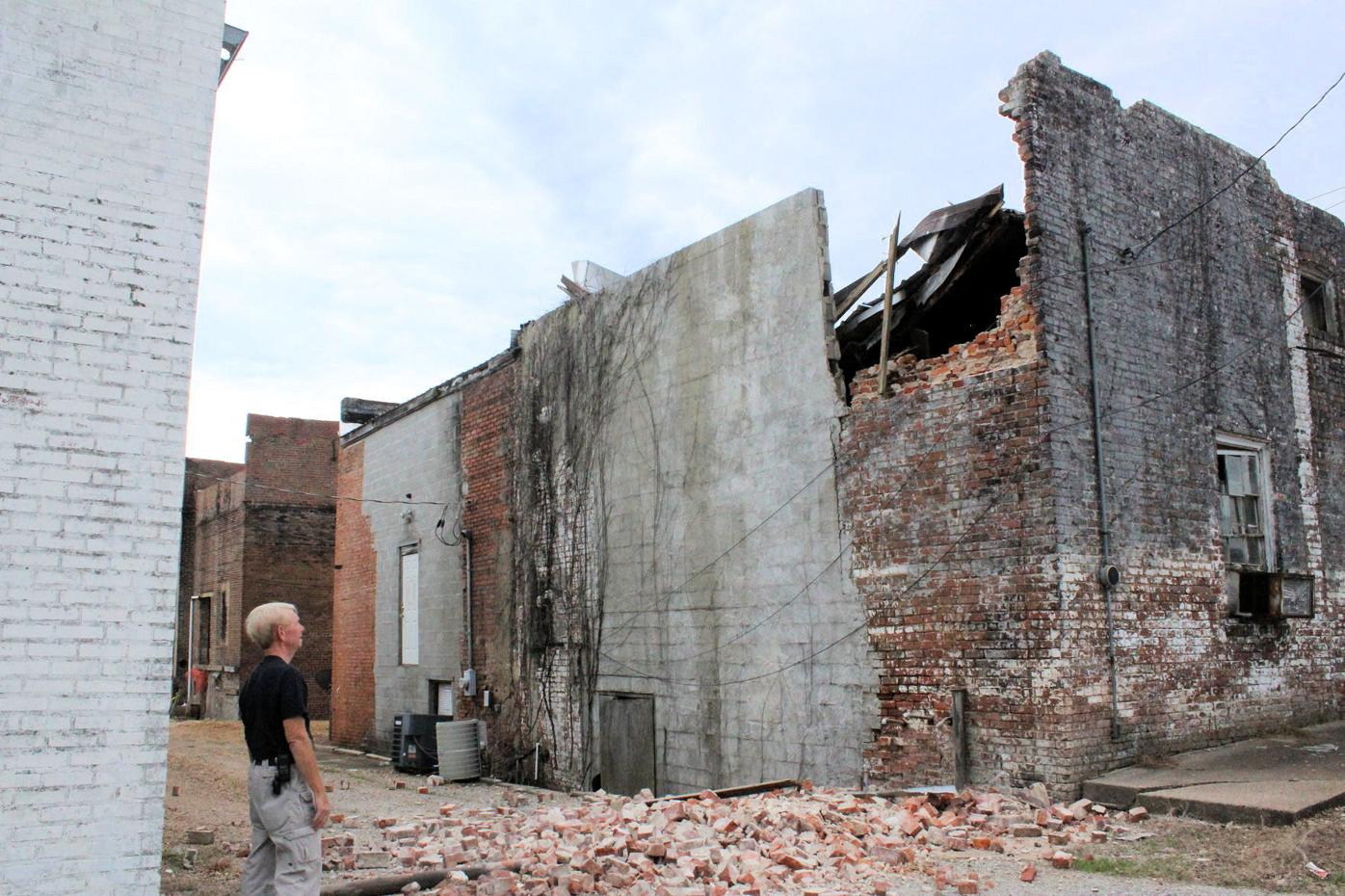 Franklin Lowe Building Collapses