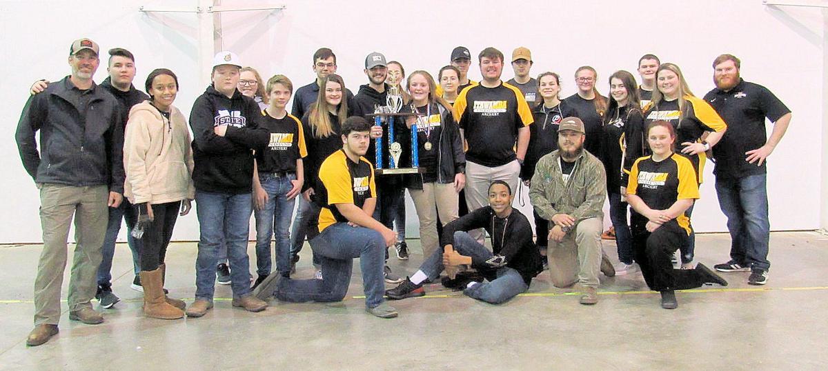 IAHS archery team