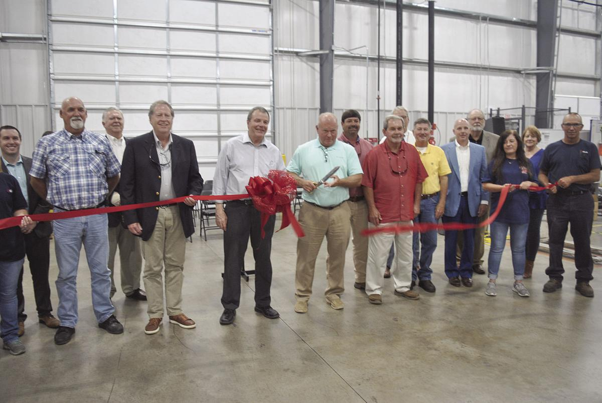 S and A ribbon cutting