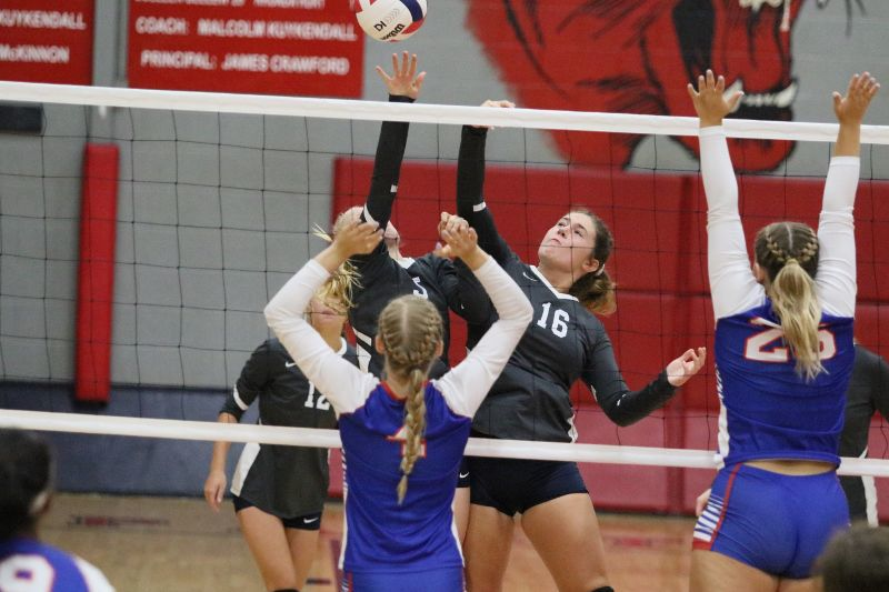 PHOTO GALLERY: Pine Grove vs  Ingomar volleyball   Sports