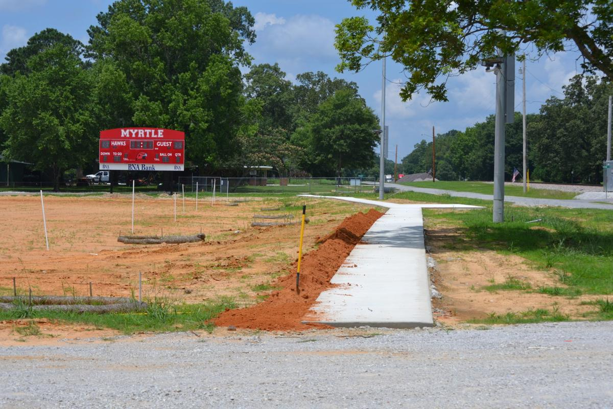 Myrtle football field
