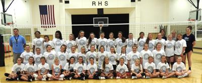 Blue Mountain College Volleyball Campers