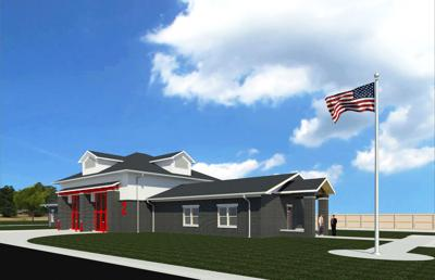 Prospective design for Fire Station No. 2