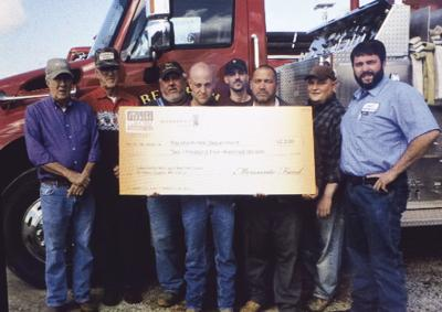 America's Farmers Grow Communities donation supports local organization Pontotoc farmer directs funds to Beckham Fire Department