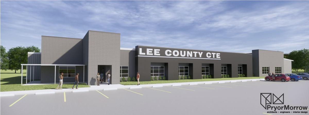 Lee County Career and Technical Education Center Rendering