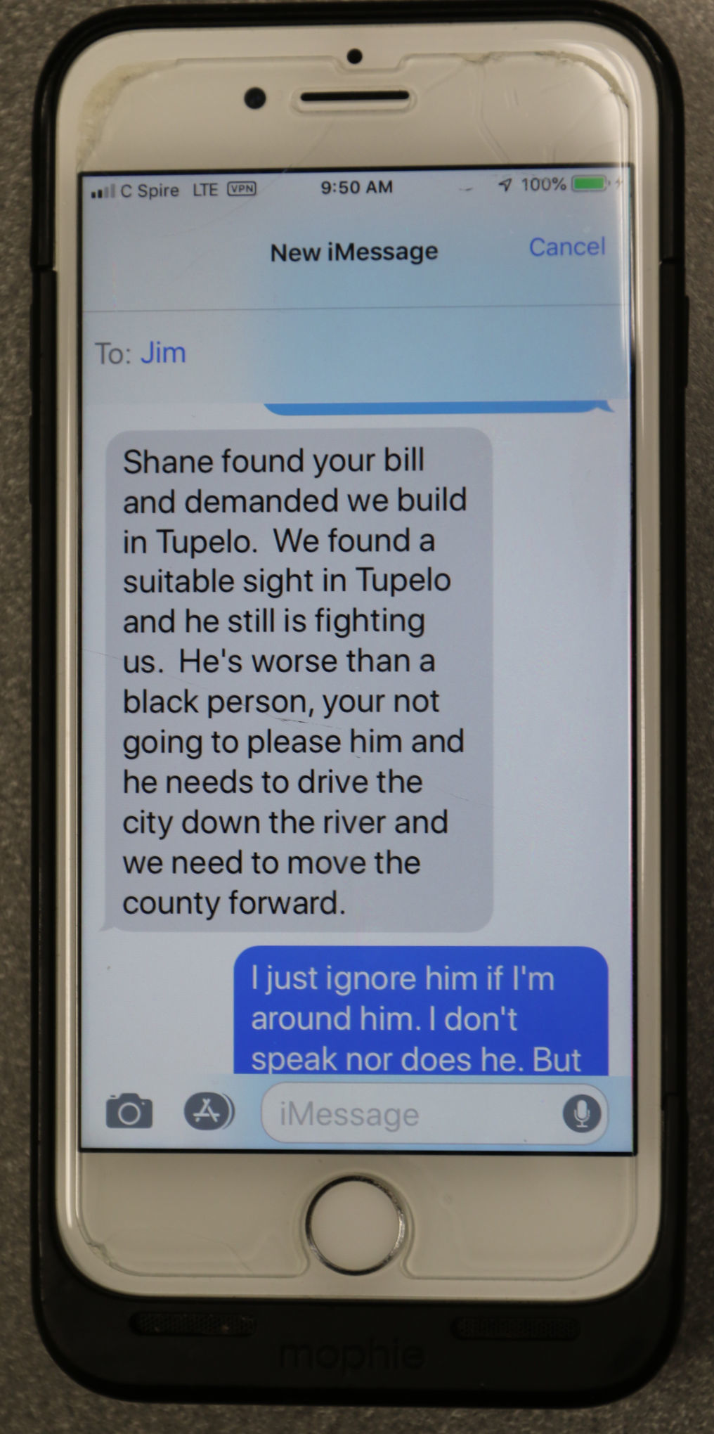 Lee County sheriff sent racially incendiary text messages