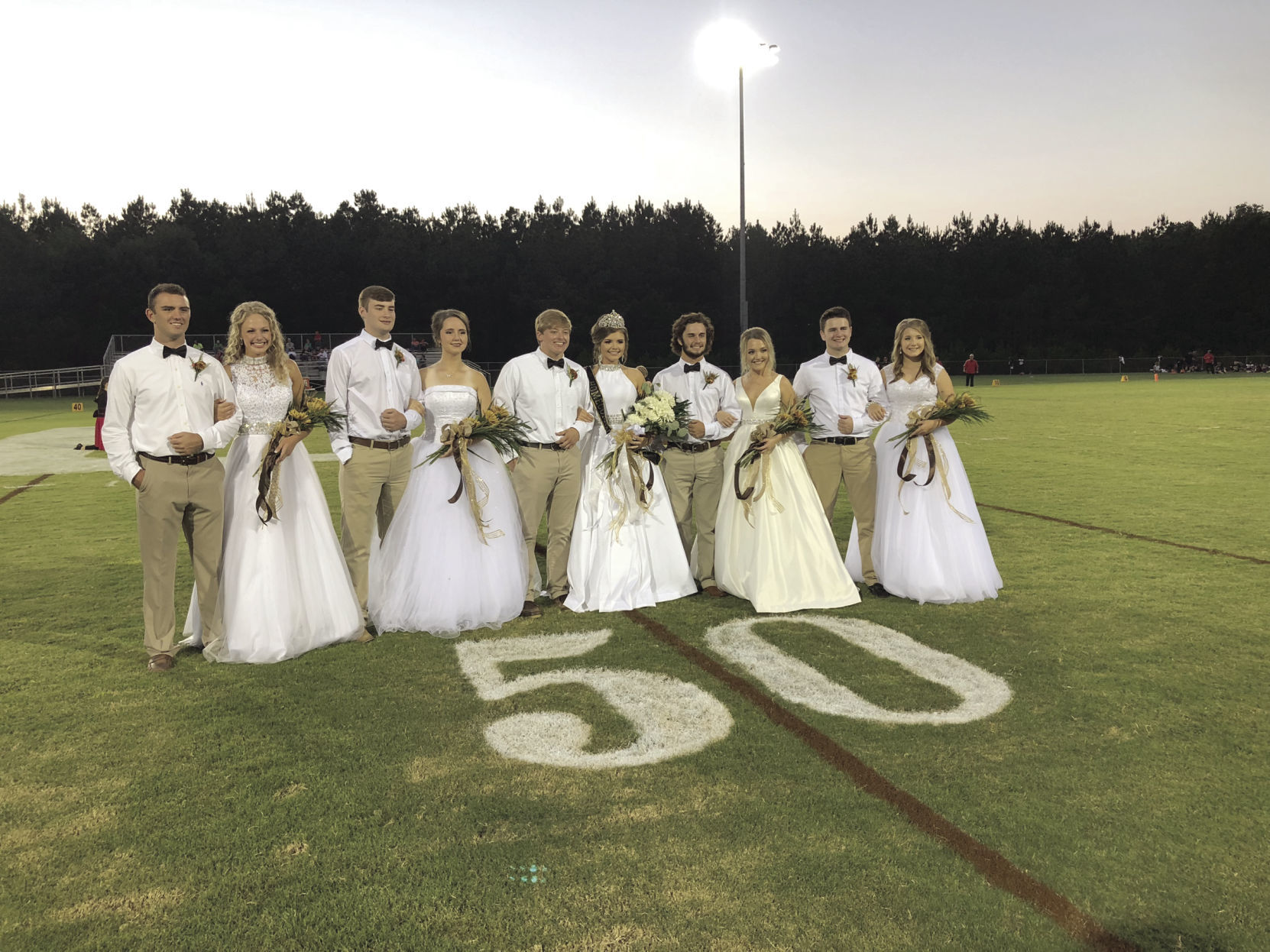 East Union Homecoming Court