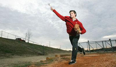 Chasing the dream: Former Tupelo, Ole Miss pitcher battling through shoulder rehab