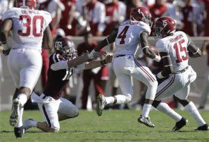 Back on track: Aggies' Allen turns page on Alabama loss